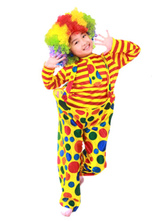 Anime Costumes AF-S2-644829 Carnival Clown Costume Circus Halloween Costume Outfit For Kids