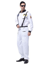 Anime Costumes AF-S2-644899 Pilot Couples Costume Halloween White Pilot Costume