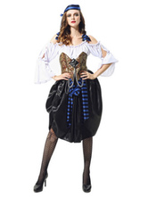 Anime Costumes AF-S2-646009 Pirates Of The Caribbean Costume Women's Pirate Fancy Dress Costume