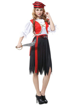 Anime Costumes AF-S2-646049 Women's Sexy Costume Crazy Pirate Fancy Dress