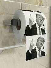 Anime Costumes AF-S2-646147 Trump Toilet Paper Halloween US President Donald Trump Paper Costume Accesories