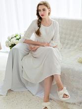 Anime Costumes AF-S2-646099 Halloween Vintage Costume Jane Austen Pride And Prejudice White Bell Sleeve High Waist Dress