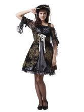 Anime Costumes AF-S2-646023 Black Pirates Of The Caribbean Women's Costume