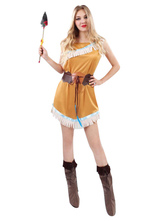 Anime Costumes AF-S2-646055 Women's Sexy Costume American Indian Cosplay Costume
