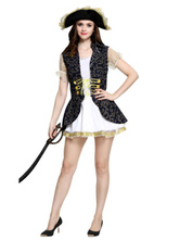 Anime Costumes AF-S2-646001 Women's Pirates Of The Caribbean Costume Fancy Dress Cosplay