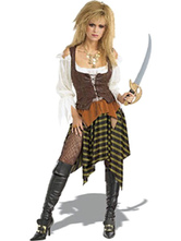 Anime Costumes AF-S2-645997 Pirates Of The Caribbean Womne's Captain Jack Costume Masquerade Cosplay