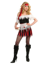 Anime Costumes AF-S2-646017 Women's Pirate Costume Fashion Sexy Off-The-Shoulder Dress