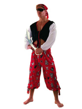 Anime Costumes AF-S2-646041 Pirates Of The Caribbean Costume Outfits For Men