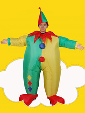 Anime Costumes AF-S2-646375 Carnival Clown Costume Air Inflation Sumo Men's Outfit Jumpsuit With Hat