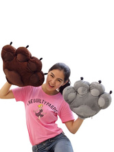 Anime Costumes AF-S2-646365 Kigurumi Pajamas Bear Claw Gloves Onesie Snuggie For Adult Animal Sleepwear Accesories