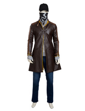 Anime Costumes AF-S2-648155 Watch Dogs Aiden Pearce Cosplay Costume