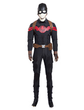 Anime Costumes AF-S2-648157 Captain American Hydra Steve Rogers Hydra Logo Halloween Cosplay Costume