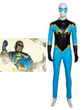 Anime Costumes AF-S2-648165 Black Lightning Cosplay Costume DC Comics Cosplay Costume