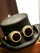 Anime Costumes AF-S2-648459 Steampunk Halloween Costume Top Hat Men's Vintage Costume Accessories