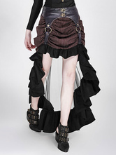 Anime Costumes AF-S2-648385 Women's Steampunk Skirt Vintage Victorian Gothic Costume Ruffle High Low Skirt