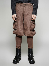 Anime Costumes AF-S2-648389 Men's Steampunk Pants Vintage Victorian Costume Trousers
