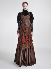 Anime Costumes AF-S2-648387 Women's Steampunk Dress Vintage Victorian Costume Party Dress