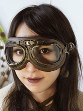 Anime Costumes AF-S2-648473 Halloween Steampunk Goggles Vintage Bronze Costume Accessory