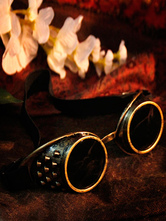Anime Costumes AF-S2-648469 Steampunk Halloween Goggles Bronze Glasses Vintage Costume Accessories