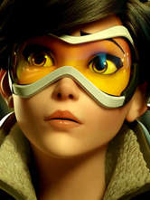 Anime Costumes AF-S2-648789 Overwatch Tracer Goggles Cosplay Props