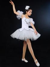 Anime Costumes AF-S2-649105 Sequin Ballet Dress Beading Tutu Dance Dress Ballet Leotard Dress