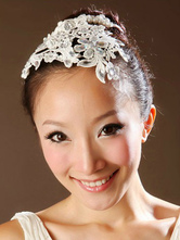 Anime Costumes AF-S2-649075 Lace Ballet Headpiece Rhinestone Ballet Hairband