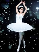 Anime Costumes AF-S2-649103 Tutu Ballet Dress Faux Fur Beading Camisole Ballet Dance Party Dresses