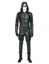 Anime Costumes AF-S2-649641 Arrow Season 5 Green Arrow Oliver Queen Halloween Cosplay Costume