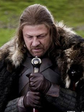 Anime Costumes AF-S2-649711 Game Of Throne Eddard Stark Cosplay Wig
