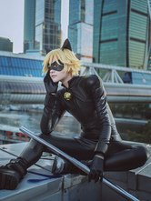 Anime Costumes AF-S2-649793 Miraculous Tales Of Ladybug & Cat Noir Cat Noir Cosplay Costume