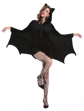 Anime Costumes AF-S2-649663 Halloween Sexy Batman Costumes Black Jumpsuit Fantasy Costume