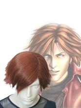 Anime Costumes AF-S2-649703 Final Fantasy VII Genesis Rhapsodos Cosplay Wig