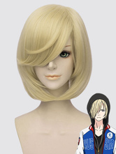 Anime Costumes AF-S2-649677 Yuri On Ice Yuri Plisetsky Cosplay Wig