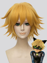 Anime Costumes AF-S2-649707 Miraculous Tales Of Ladybug & Cat Noir Cat Noir Cosplay Wig