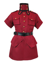 Anime Costumes AF-S2-649791 Hellsing Seras Victoria Cosplay Costume