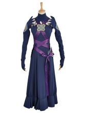 Anime Costumes AF-S2-649755 Fire Emblem Fates Aqua Cosplay Costume Night Version