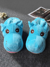 Anime Costumes AF-S2-651965 Kigurumi Pajamas Onesie Footwear Animal Blue Paw Adults Costume Slipper Shoes