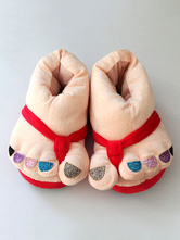 Anime Costumes AF-S2-651947 Kigurumi Pajamas Christmas Multicolor Slipper Footwear Costume Accessories
