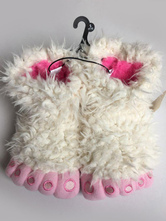 Anime Costumes AF-S2-651939 Kigurumi Pajama Animal Onesie White Fur Claw Slippers Shoes For Girls