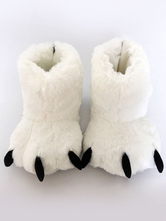 Anime Costumes AF-S2-651953 Kigurumi Pajamas White Bear Claws Slipper Footwear Costume Accessories
