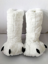 Anime Costumes AF-S2-651949 Kigurumi Pajamas White Bear Claws Winter Footwear Costume Accessories