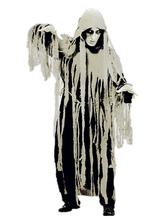 Anime Costumes AF-S2-654035 Halloween Ghost Costume Black Men's Devil Mummy Costume
