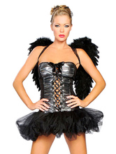 Anime Costumes AF-S2-653905 Sexy Corsets Dress Dark Angel Demon Costume