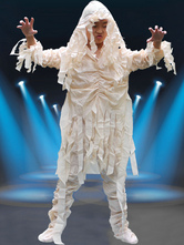Anime Costumes AF-S2-654049 Halloween Ghost Costume Kids' White Zombie Costume
