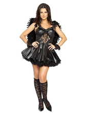 Anime Costumes AF-S2-653907 Sexy Dark Angel Devil Halloween Costume For Women