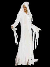 Anime Costumes AF-S2-654039 Halloween Ghost Costume White Women's Mummy Costume
