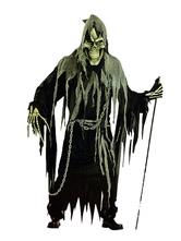 Anime Costumes AF-S2-654045 Halloween Ghost Costume Black Men's Mummy Costume