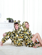 Anime Costumes AF-S2-654579 Kigurumi Pajamas Military Onesie Snuggie For Adult Camo Grass Green Sleepwear