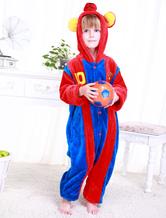 Anime Costumes AF-S2-654633 Kigurumi Pajamas World Cup Football Club Barcelona Onesie Red Long Sleeve Jumpsuit Sleepwear Costume For Kids