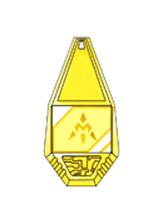 Anime Costumes AF-S2-655043 Digital Monster Digimon Badge Cosplay Props Miracle